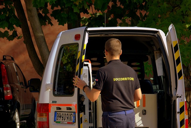 zachránce ambulance