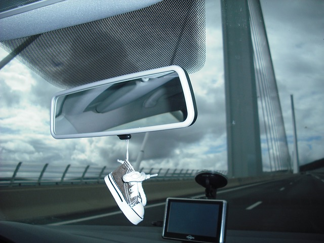 Čelní sklo vozidla